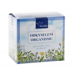 Odkyselení organismu - bylinný čaj sypaný