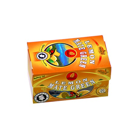 Milota Mate green lemon 40g(20x2g)