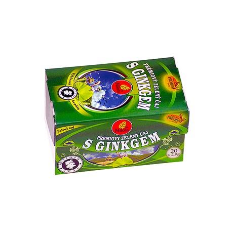 Milota Zelený čaj s ginkgem 40g(20x2g) 0