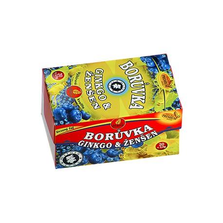 Milota Dětský borůvkový aromatizovaný 40g(20x2g)