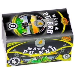 Milota China Pu-erh black s mátou 40g(20x2g)