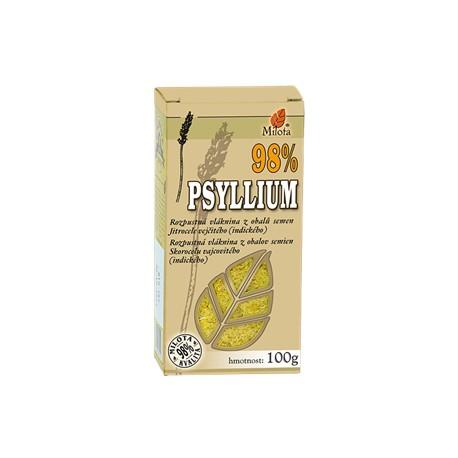 Milota Psyllium 100g přírodní vláknina