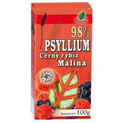 Milota Psyllium malina a černý rybíz 100g