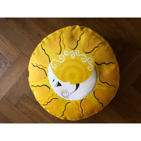 Meditační polštář - novoluní